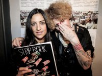Michela Marchetti & anna ka (Mary Jo Peace) | Strip-Book#1 | Launch Party | Bjork Florence |  2th july 2014