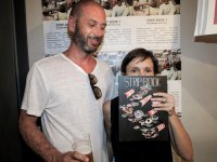 Maurizio Battelli & Manuela Martelli | Policeman & Architect | Viareggio | Strip-Book#1| Launch Party | Bjork Florence |  2th july 2014
