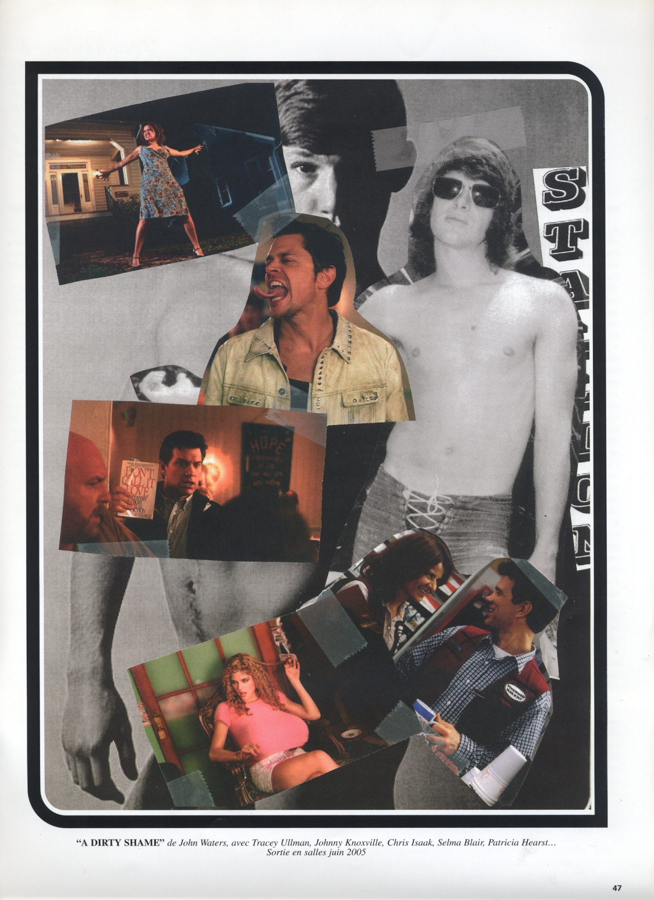 A DIRTY SHAME DIRECTED BY JOHN WATERS | 2004 | REBEL MAGAZINE | SPRING/SUMMER 2005