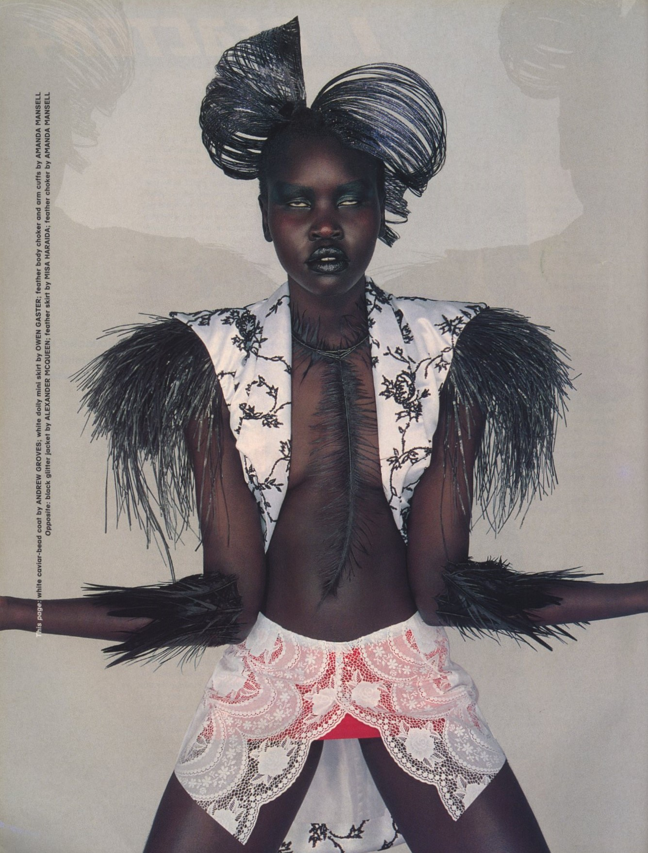 ALEK WEK | PHOTOGRAPHY PETER ROBATHAN | STYLING SETA NILAND | THE FACE NO 13 | FEBRUARY 1998