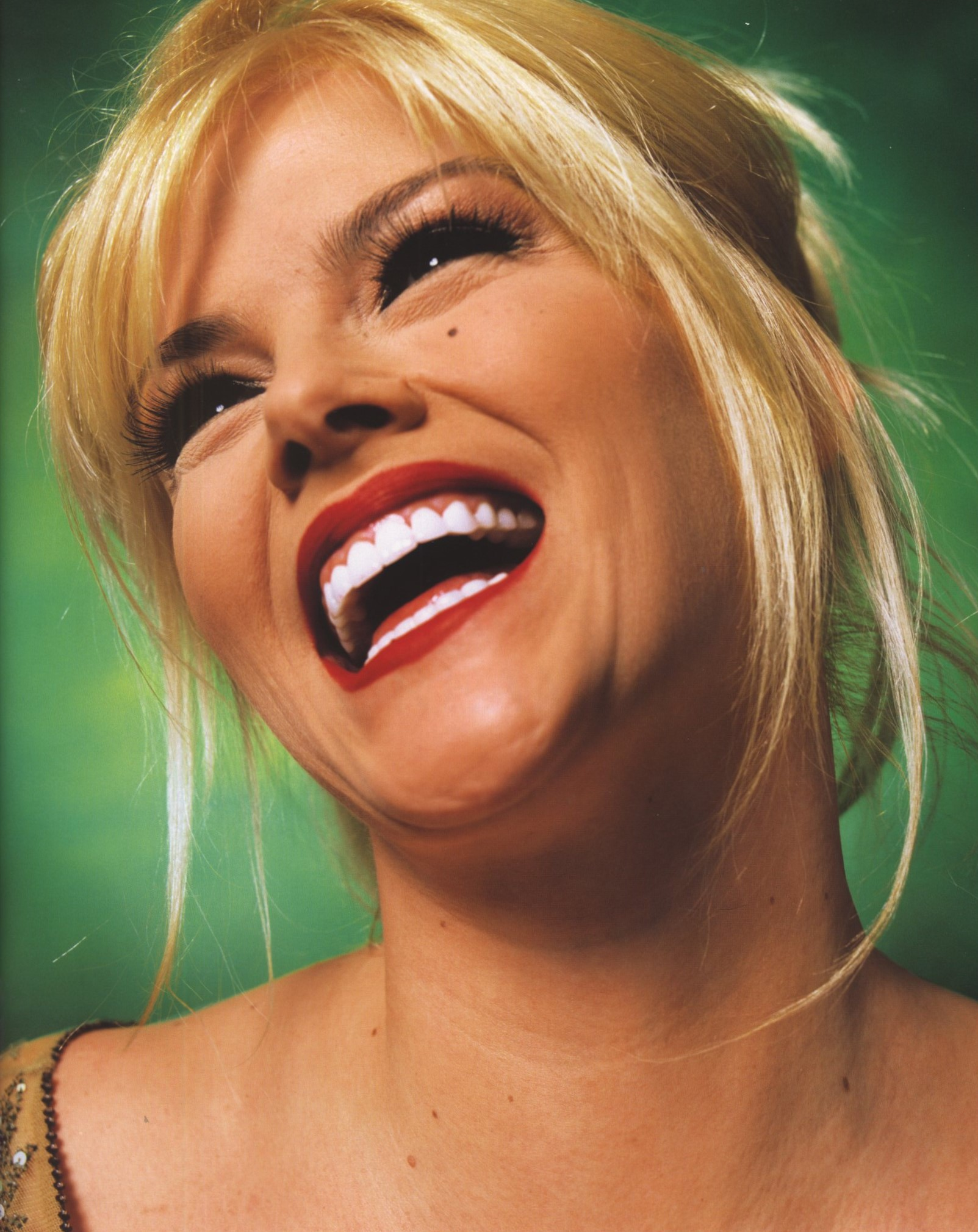 ANNA NICOLE SMITH | 2004 | PHOTOGRAPHY ANDRES SERRANO