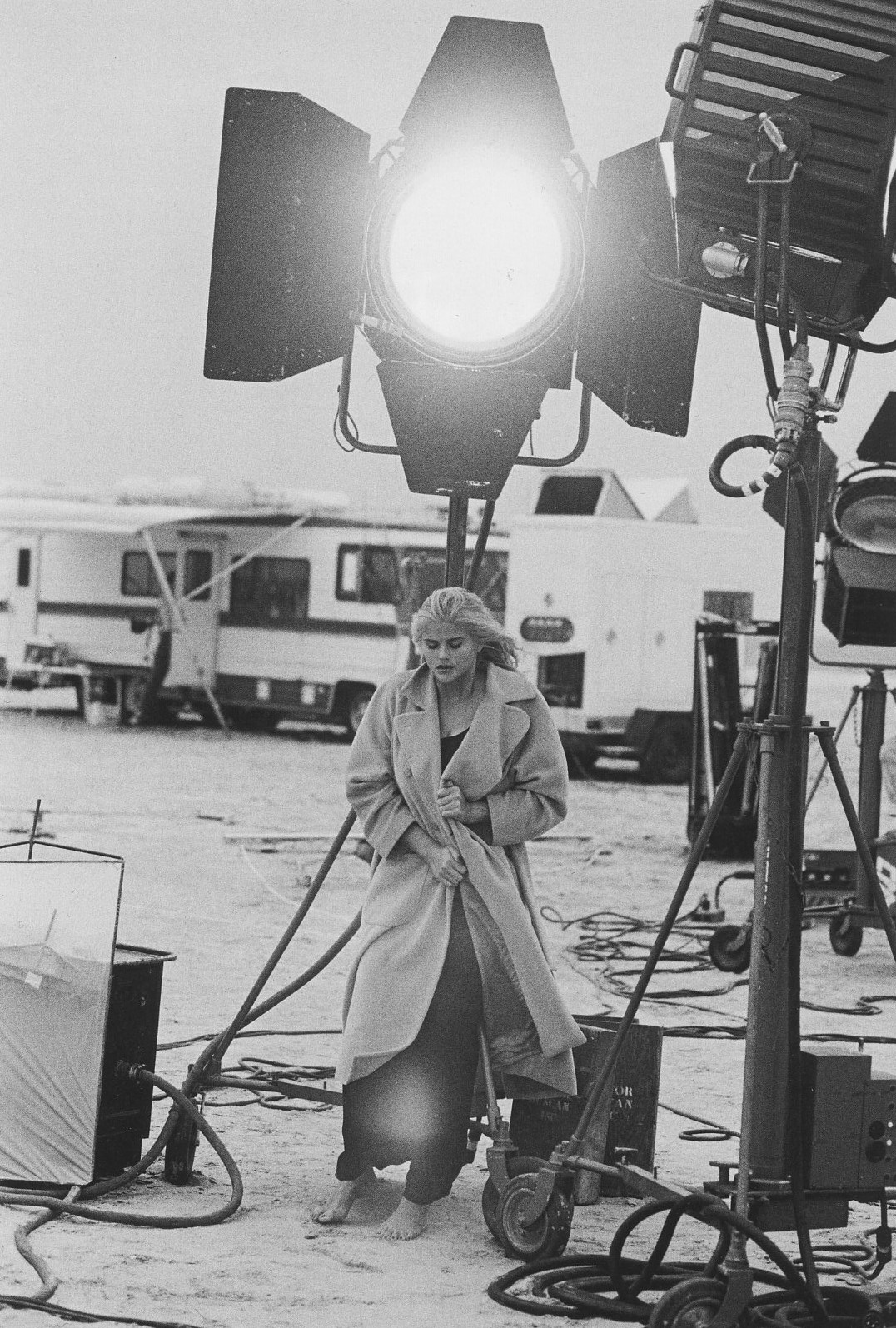ANNA NICOLE SMITH | TEXAS | 1994 | PHOTOGRAPHY PETER LINDBERGH | MARIE CLAIRE GERMANY