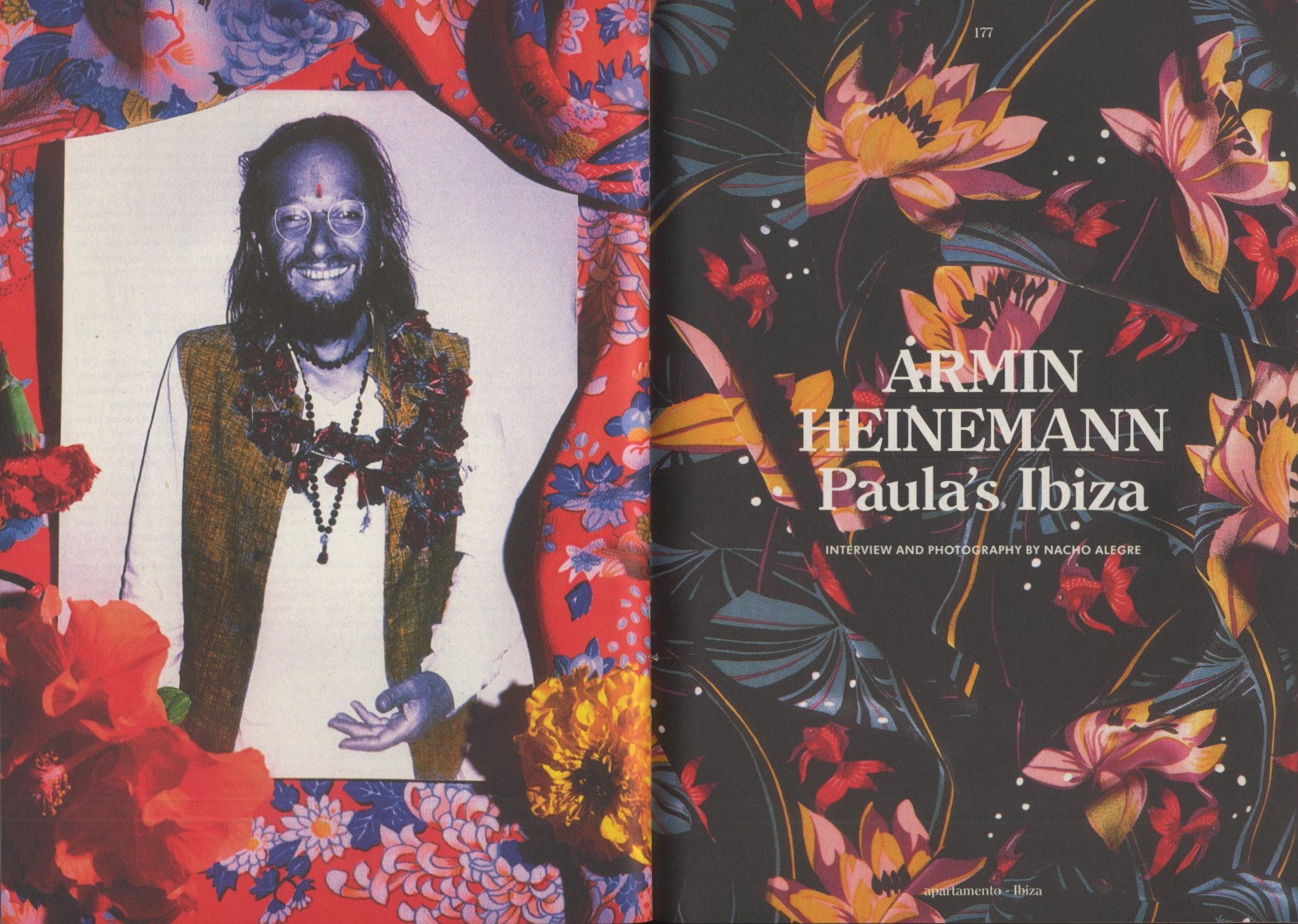 ARMIN HEINEMANN | PAULA'S IBIZA | INTERVIEW AND PHOTOGRAPHY NACHO ALEGRE | APARTAMENTO MAGAZINE | ISSUE #15 | SPRING/SUMMER 2015