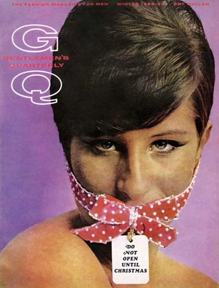 BARBRA STREISAND | GQ CHRISTMAS COVER | DECEMBER 1965