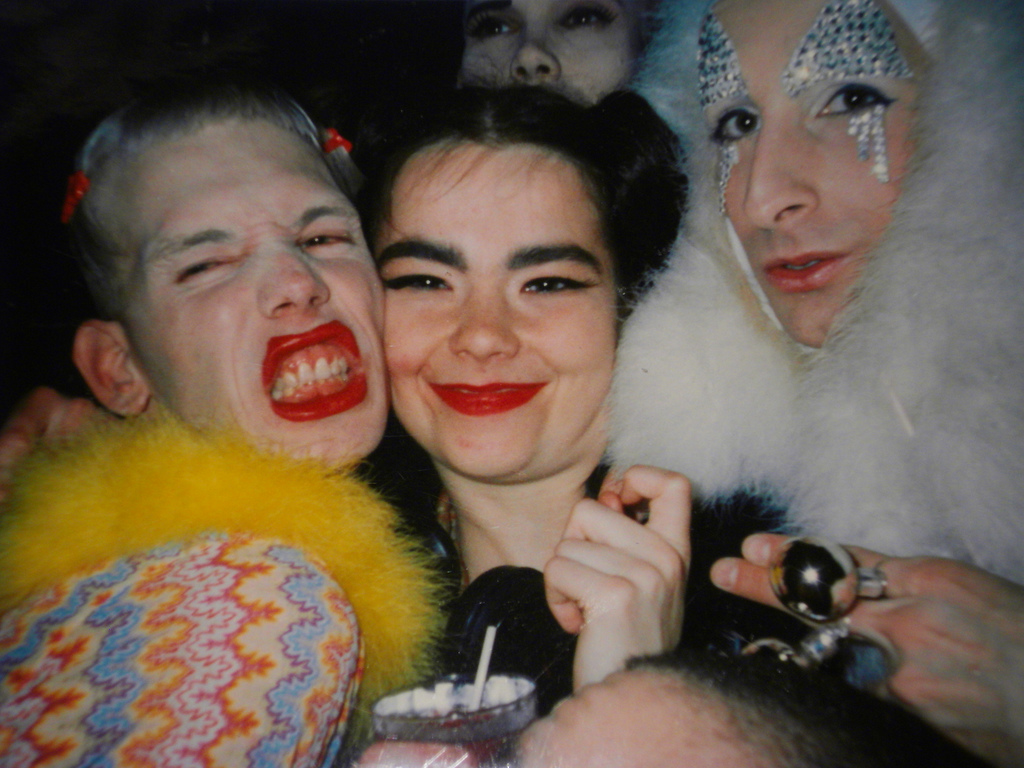 BJORK, MICHEL ALIG AND JAMES ST. JAMES | CLUB KIDS | NEW YORK CITY | 90s