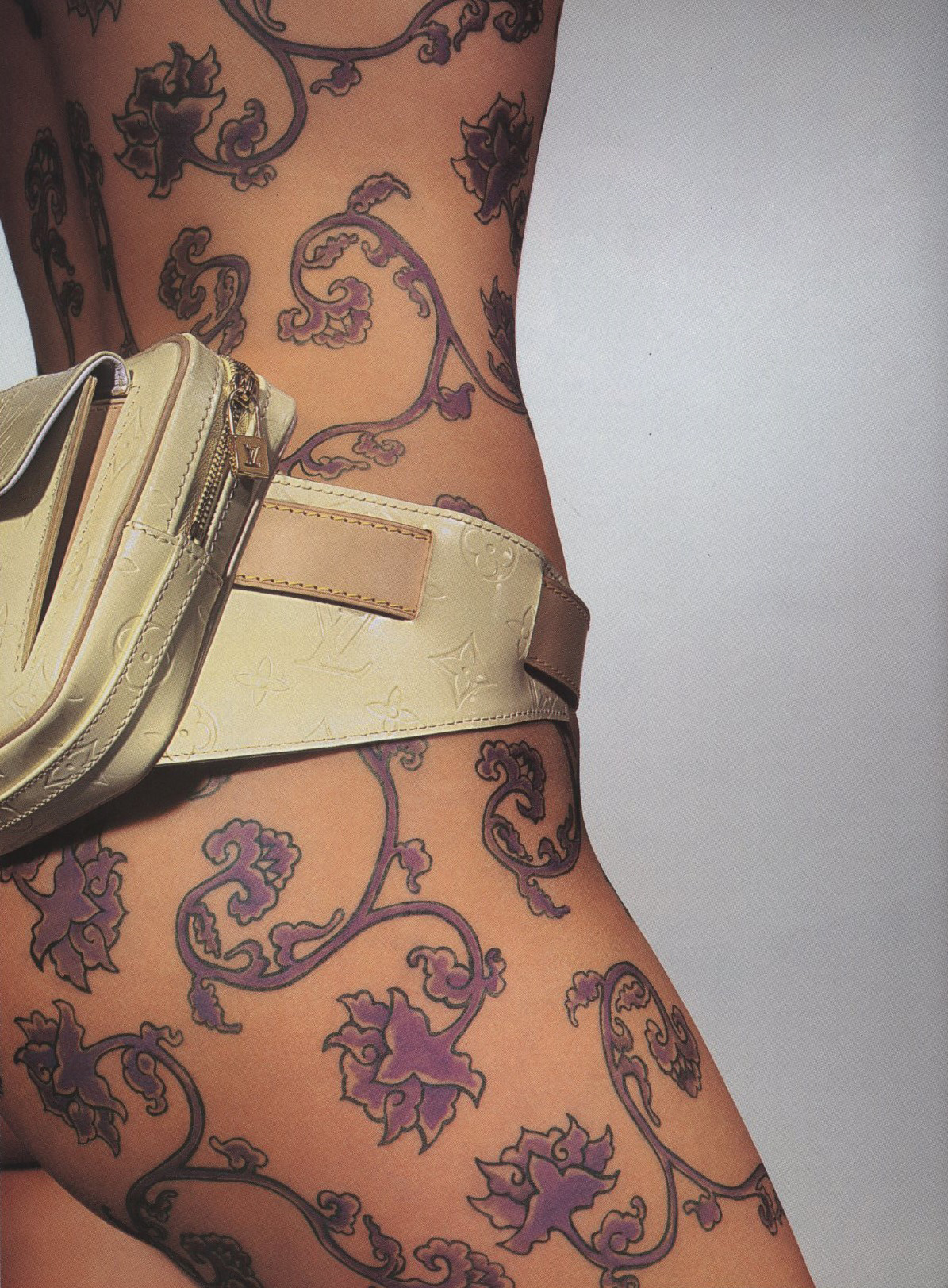 BODY ART | LOUIS VUITTON | PHOTOGRAPHY RICHARD BURBRIDGE | HARPER'S BAZAAR | FEBRUARY 1999