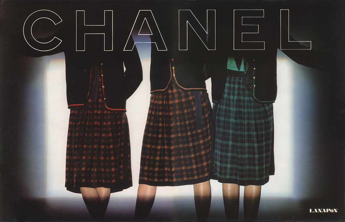 CHANEL AD HARPER'S BAZAAR ITALIA N.1-2 JANUARY/FEBRUARY 1978