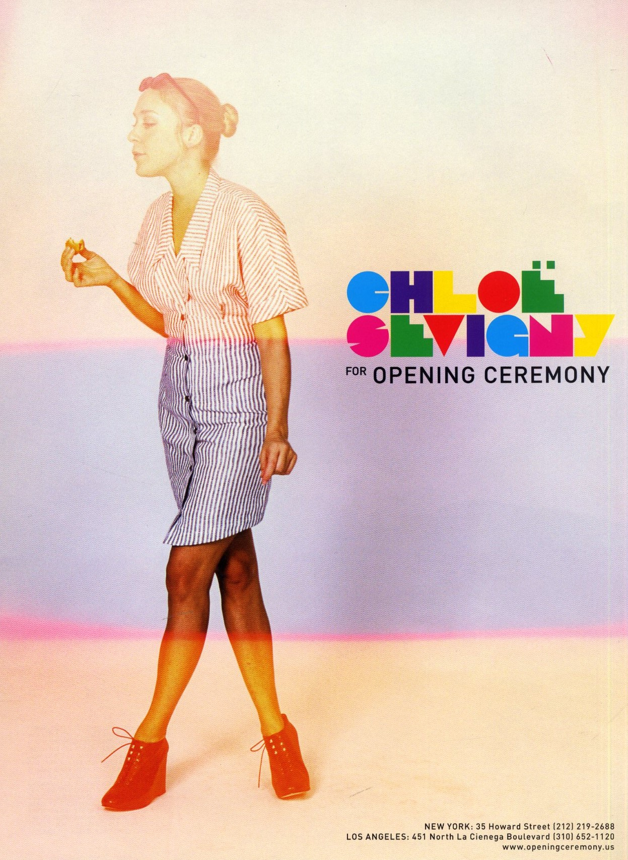 CHLOE SEVIGNY FOR OPENING CEREMONY | SELF SERVICE | SPRING/SUMMER 2008