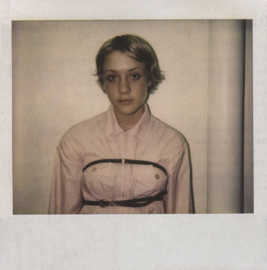 CHLOE SEVIGNY | ORIGINAL POLAROID FOR KIDS BY LARRY CLARK | THE FACE NO 69 | OCTOBER 2002