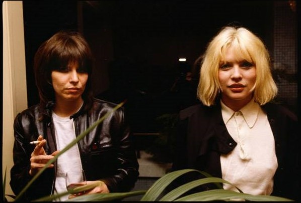 CHRIS STEIN | CHRISSIE HYNDE AND DEBBIE HARRY | 1978