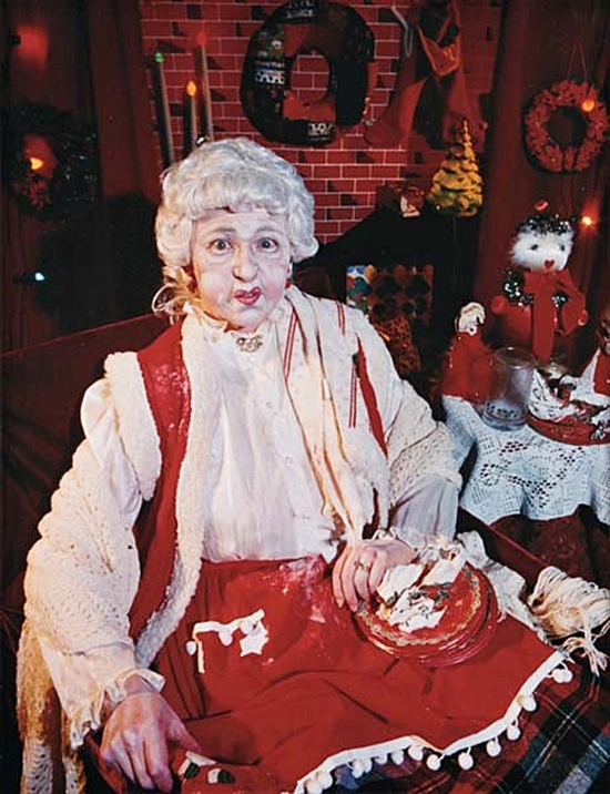 CINDY SHERMAN MRS SANTA CLAUS 1990