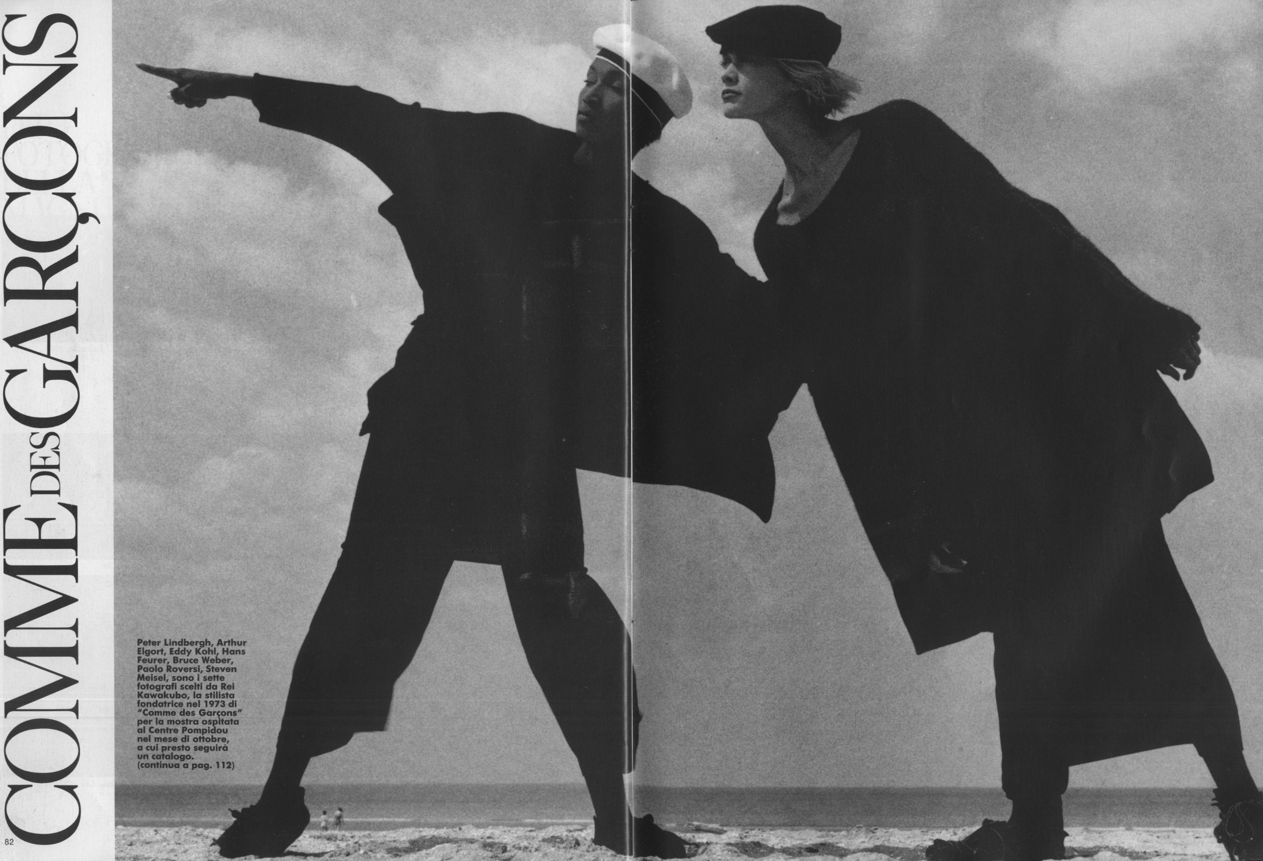 COMME DES GARCONS | PHOTO ITALY  N.137 | NOVEMBER 1986