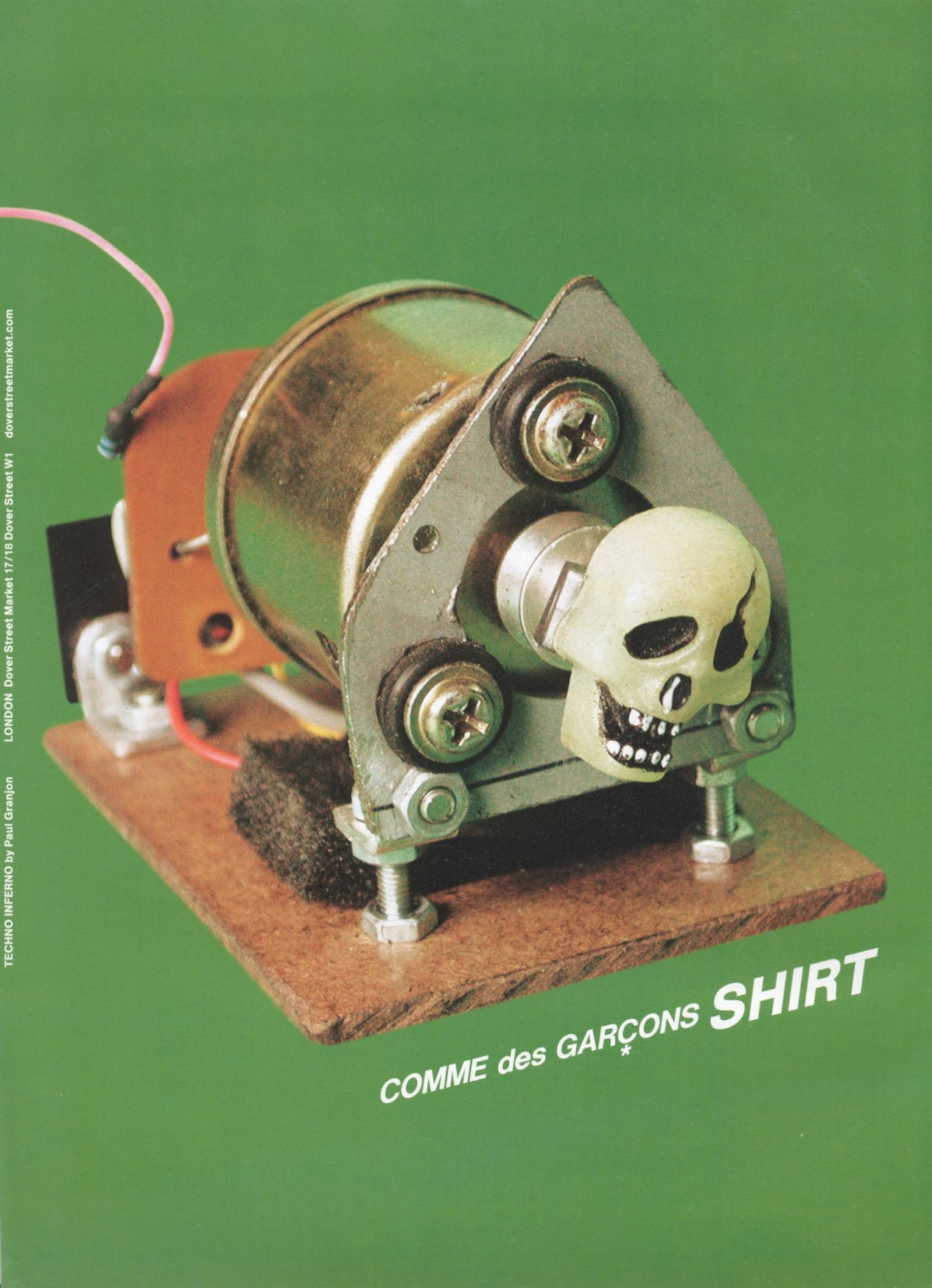 COMME DES GARCONS SHIRT | TECHNO INFERNO BY PAUL GRANJON