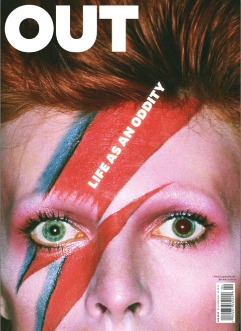 DAVID BOWIE | PHOTOGRAPHY BRIAN DUFFY | OUT MAGAZINE | APRIL 2013