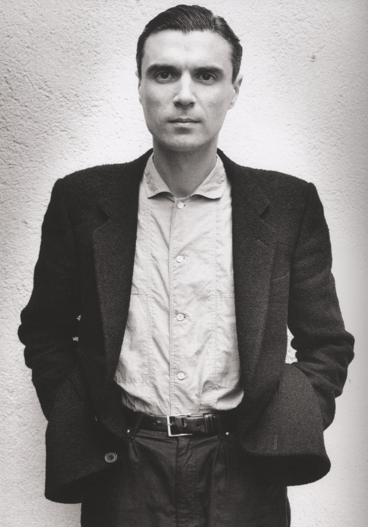 DAVID BYRNE HOLLYWOOD 1983 PHOTOGRAPHY ALICE SPRINGS