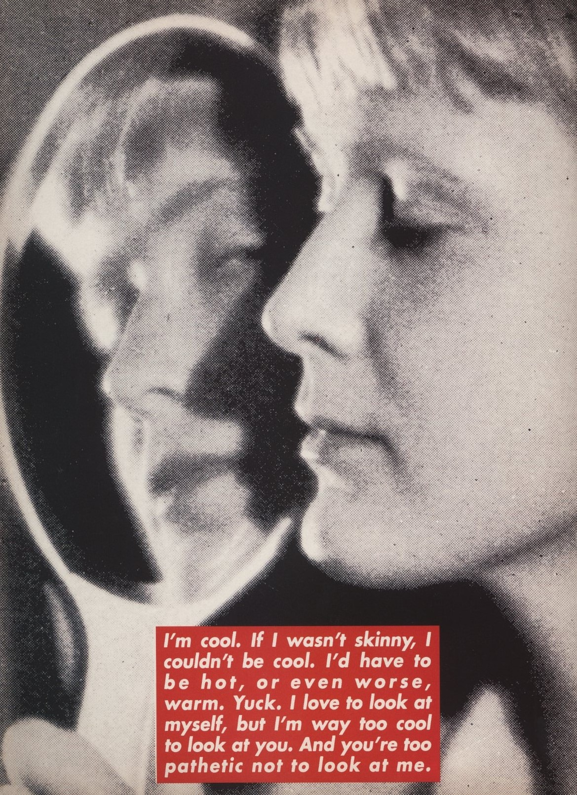 DAZED & CONFUSED | ISSUE 21 | JUNE 1996 | SPECIAL ARTIST'S PROJECT | BARBARA KRUGER