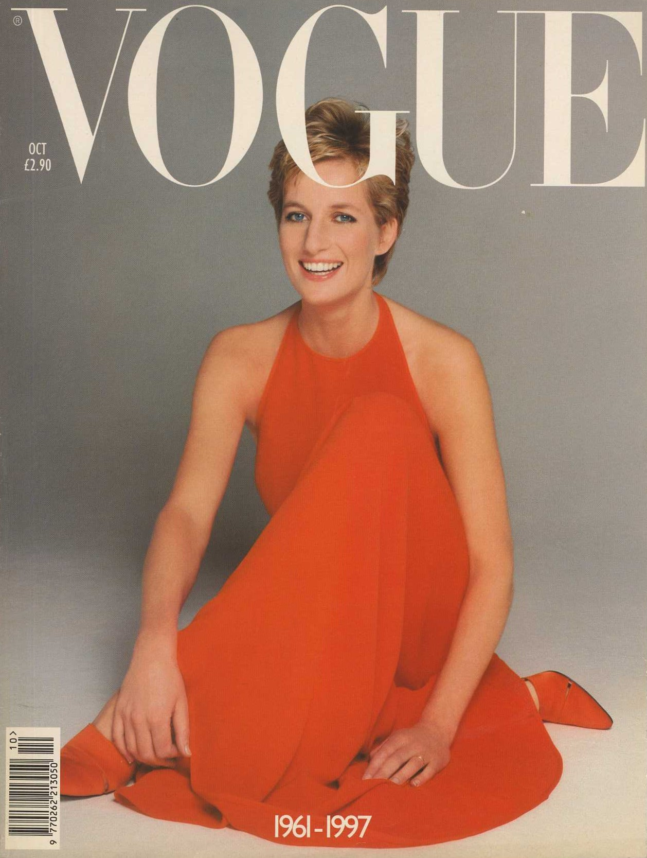 DIANA PRINCESS OF WALES | PHOTOGRAPHY PATRICK DEMARCHELIER | 1994 | BRITISH VOGUE | OCTOBER 1997