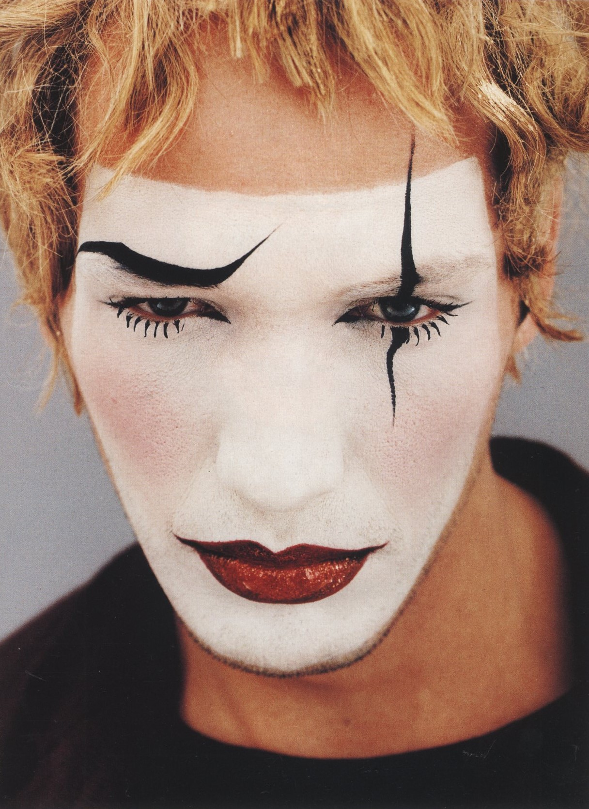 FACES TO FACES PHOTOGRAPHY JEAN-BAPTISTE MONDINO VOGUE HOMMES INTERNATIONAL MODE 18 FALL/WINTER 1993