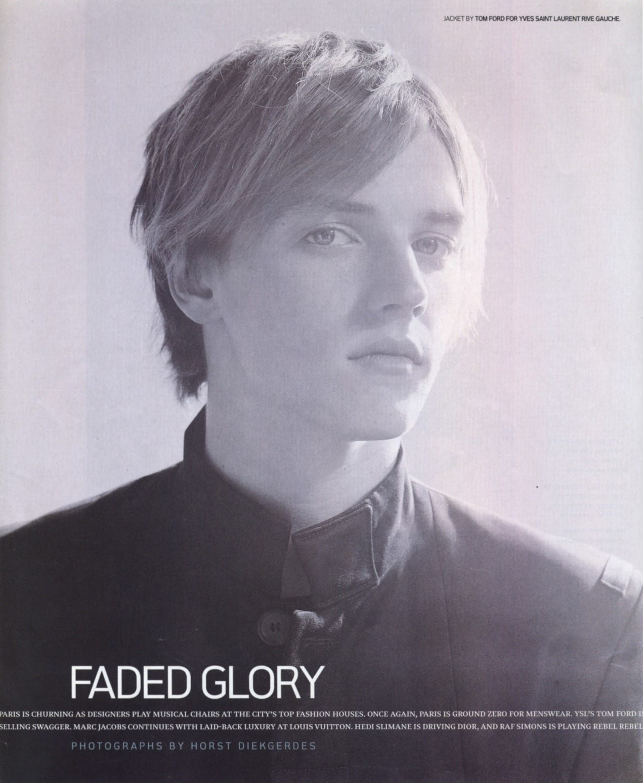 FADED GLORY | PHOTOGRAPHY HORST DIEKGERDES | DETAILS | MAY 2001