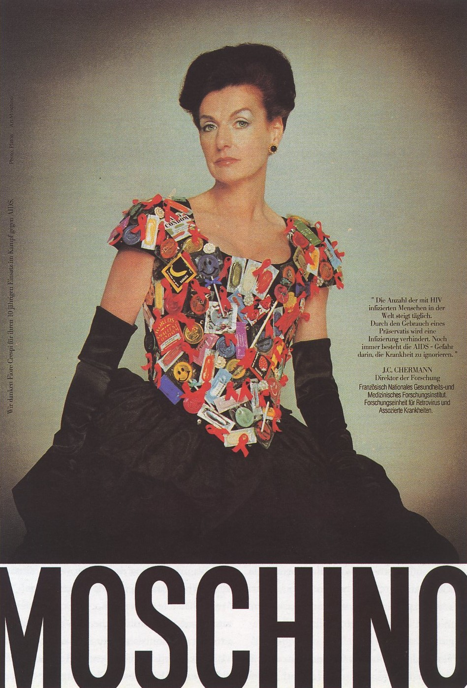 FIORE CRESPI | MOSCHINO AD | FALL/WINTER 1995/1996 | PHOTOGRAPHY PLATON