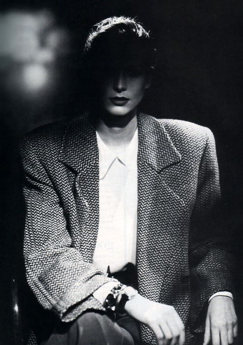 GIORGIO ARMANI PHOTOGRAPHY ALDO FALLAI | VOGUE US SEPTEMBER 1987