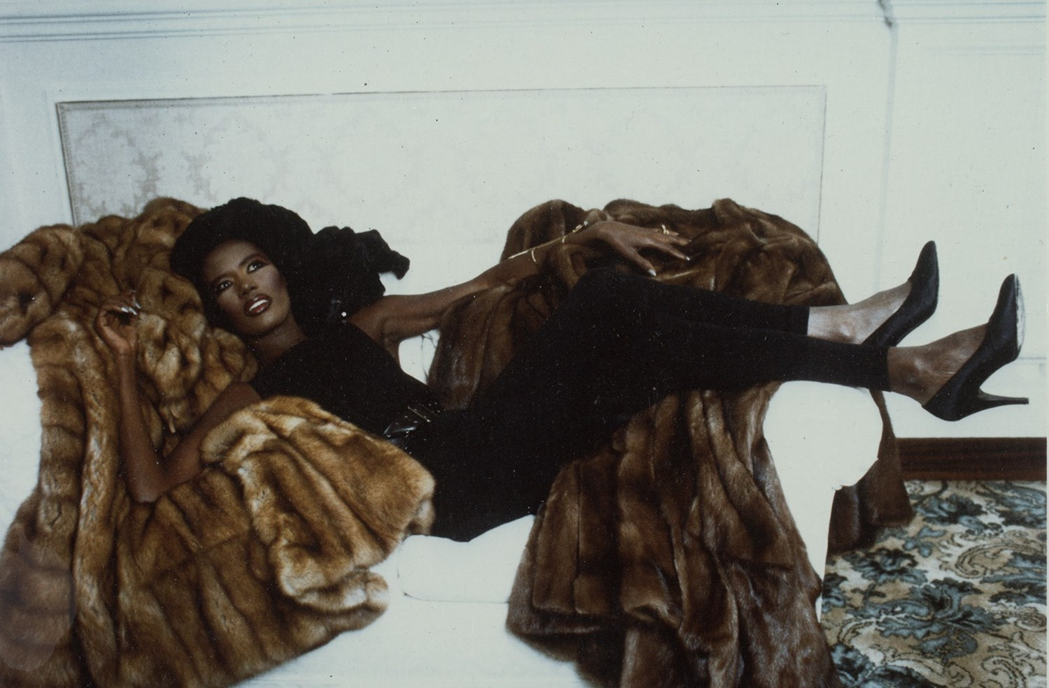 GRACE JONES | FENDI ARCHIVE | 1986