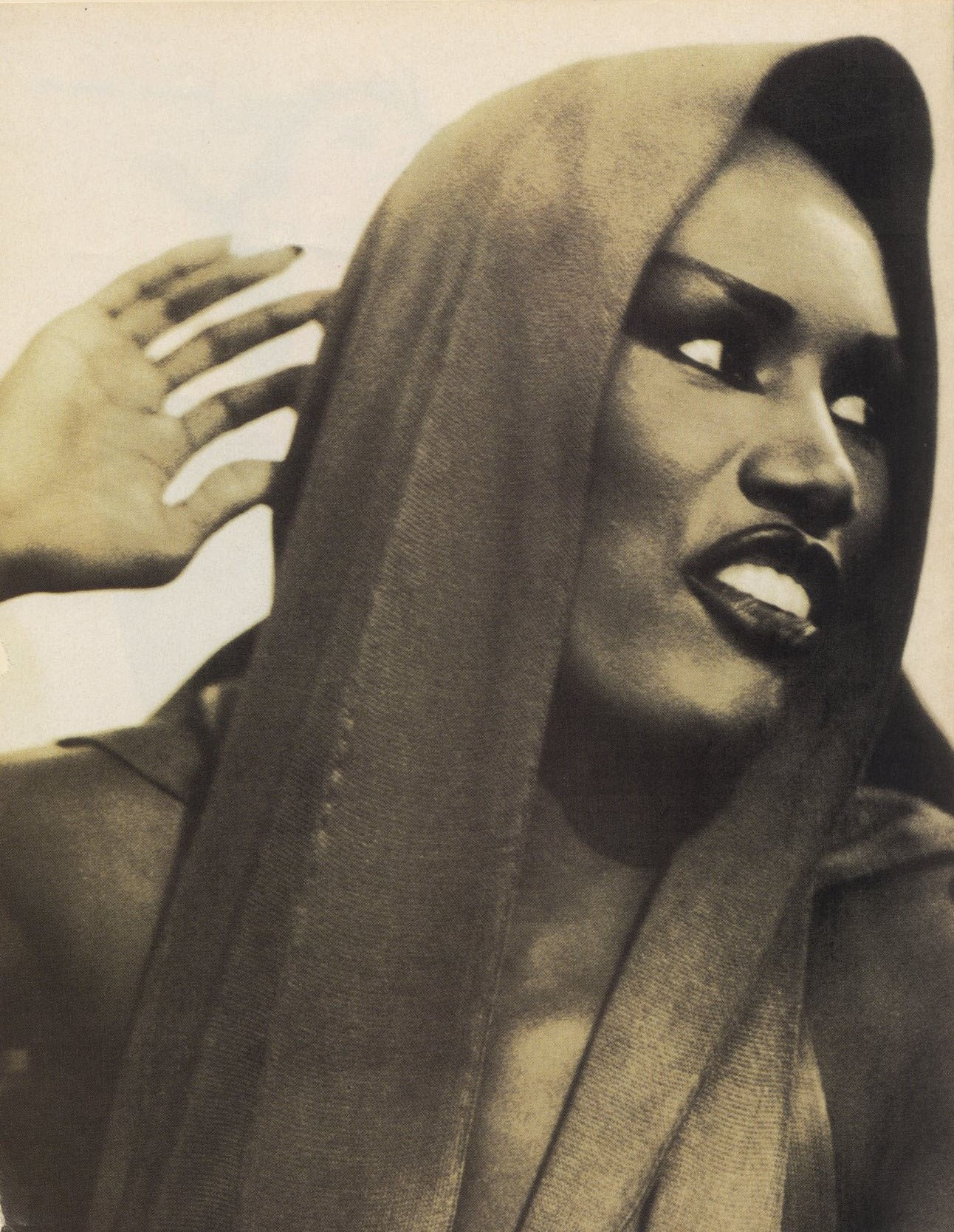 GRACE JONES | PHOTOGRAPHY ARTHUR ELGORT | VOGUE ITALIA | DECEMBER 1988