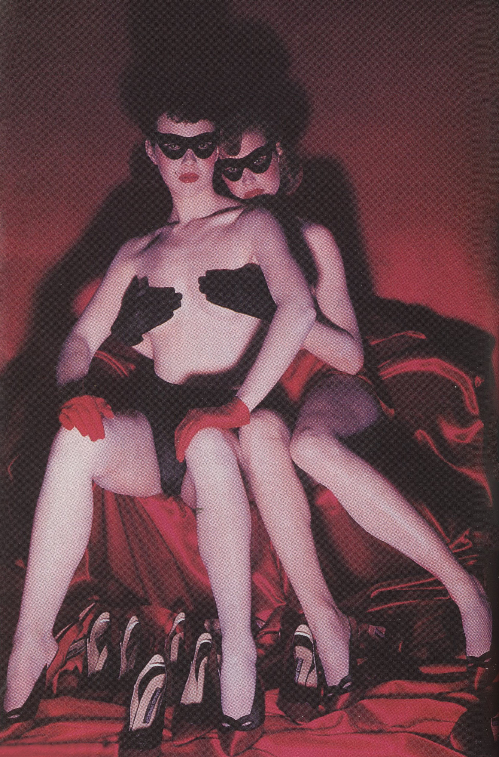 GUY BOURDIN | VOGUE PARIS | 1985