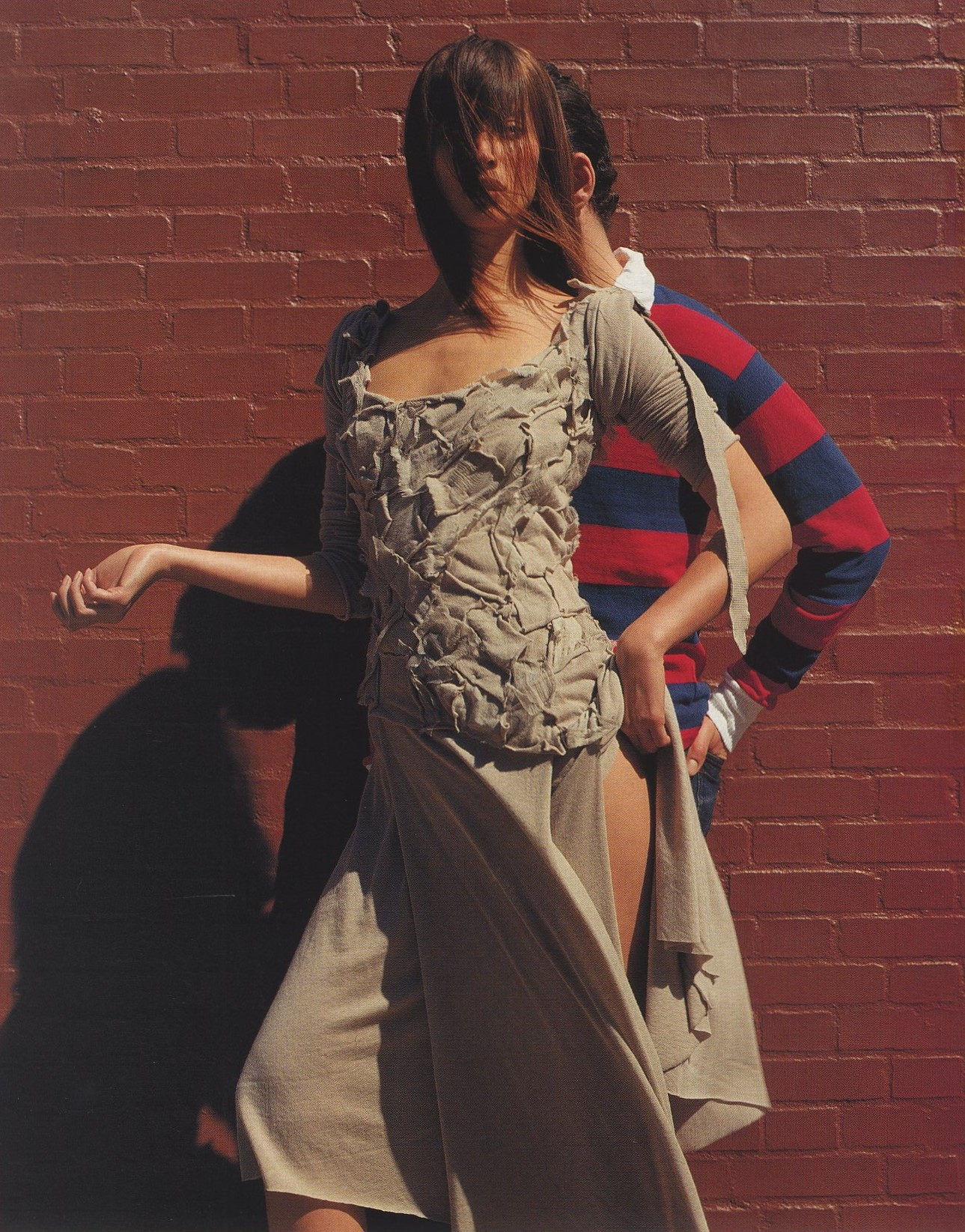 HOUSE STYLE | CHRISTY TURLINGTON | PHOTOGRAPHY INEZ VAN LAMSWEERDE & VINOODH MATADIN | NOVA | JULY 2000