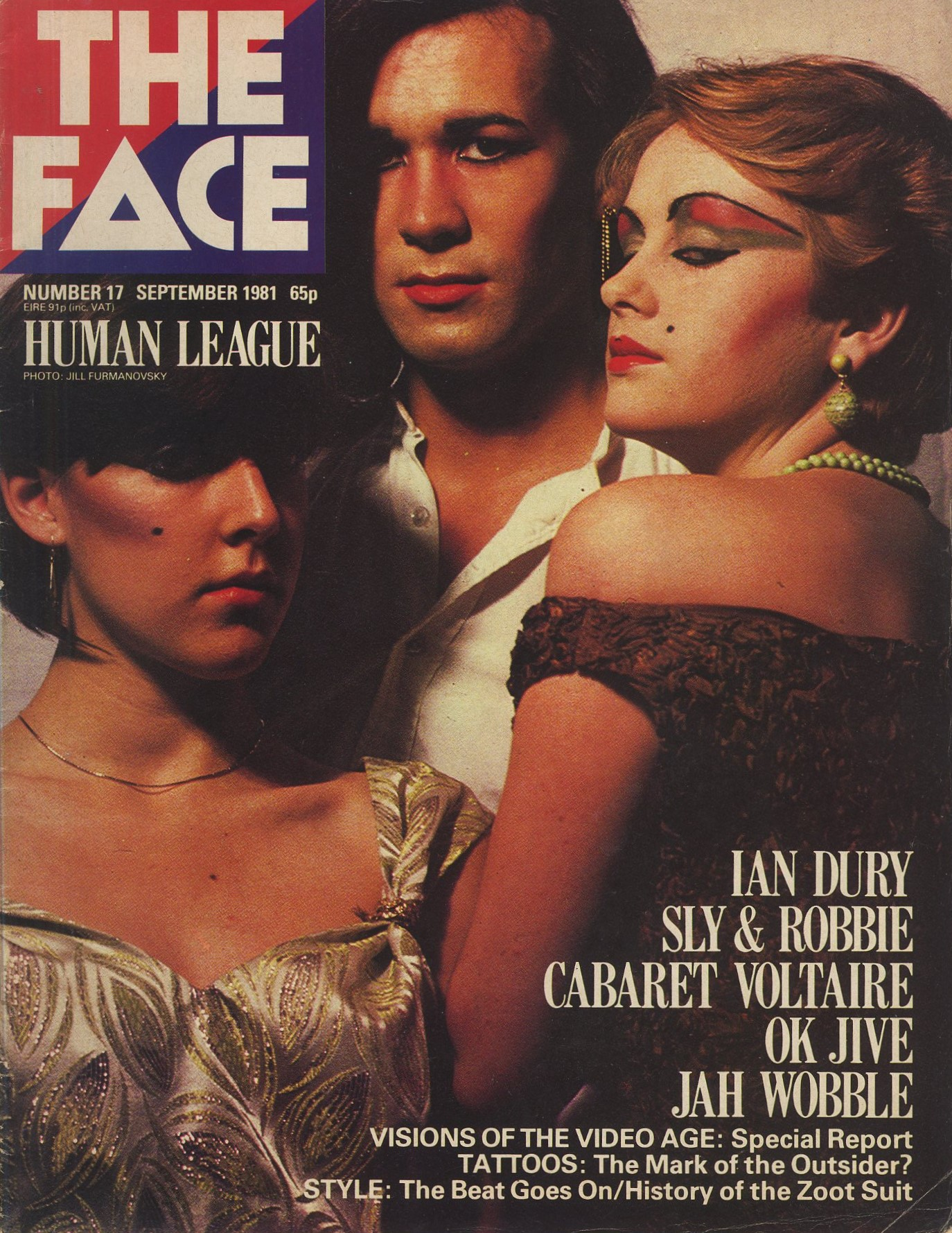 HUMAN LEAGUE | PHOTOGRAPHY JILL FURMANOVSKY | THE FACE | NUMBER 17 | SEPTEMBER 1981