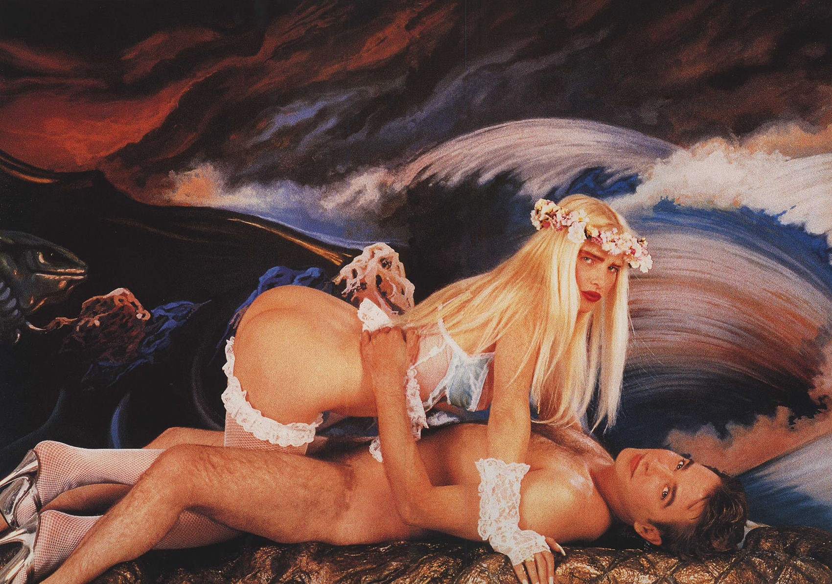ILONA WITH ASS UP BY JEFF KOONS | 1990