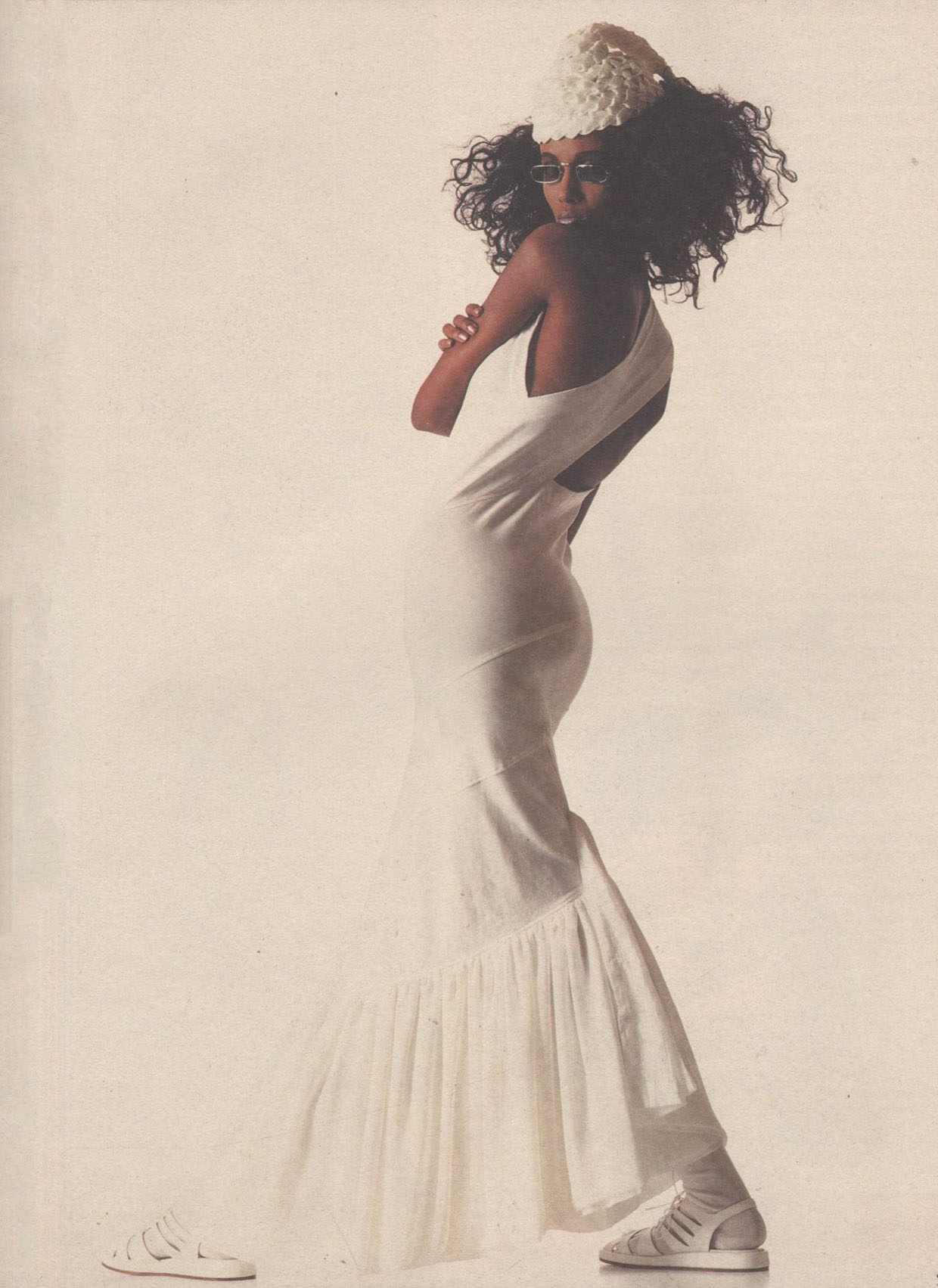 IMAN | REI KAWAKUBO FOR COMME DES GARCONS | 1986 | PHOTOGRAPHY SERGIO CAMINATA