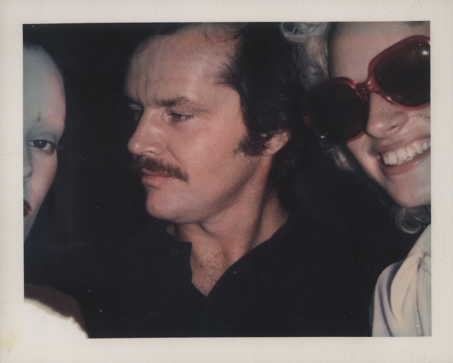 JANE FORTH, JACK NICHOLSON AND DONNA JORDAN 1970 POLAROID ANDY WARHOL