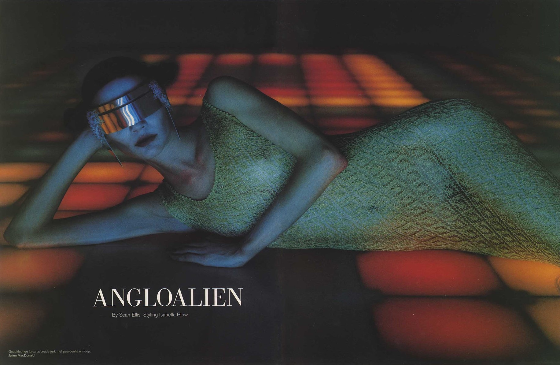JODIE KID | ANGLOALIEN | PHOTOGRAPHY SEAN ELLIS | STYLING ISABELLA BLOW | DUTCH #12 | AUTUMN 1997