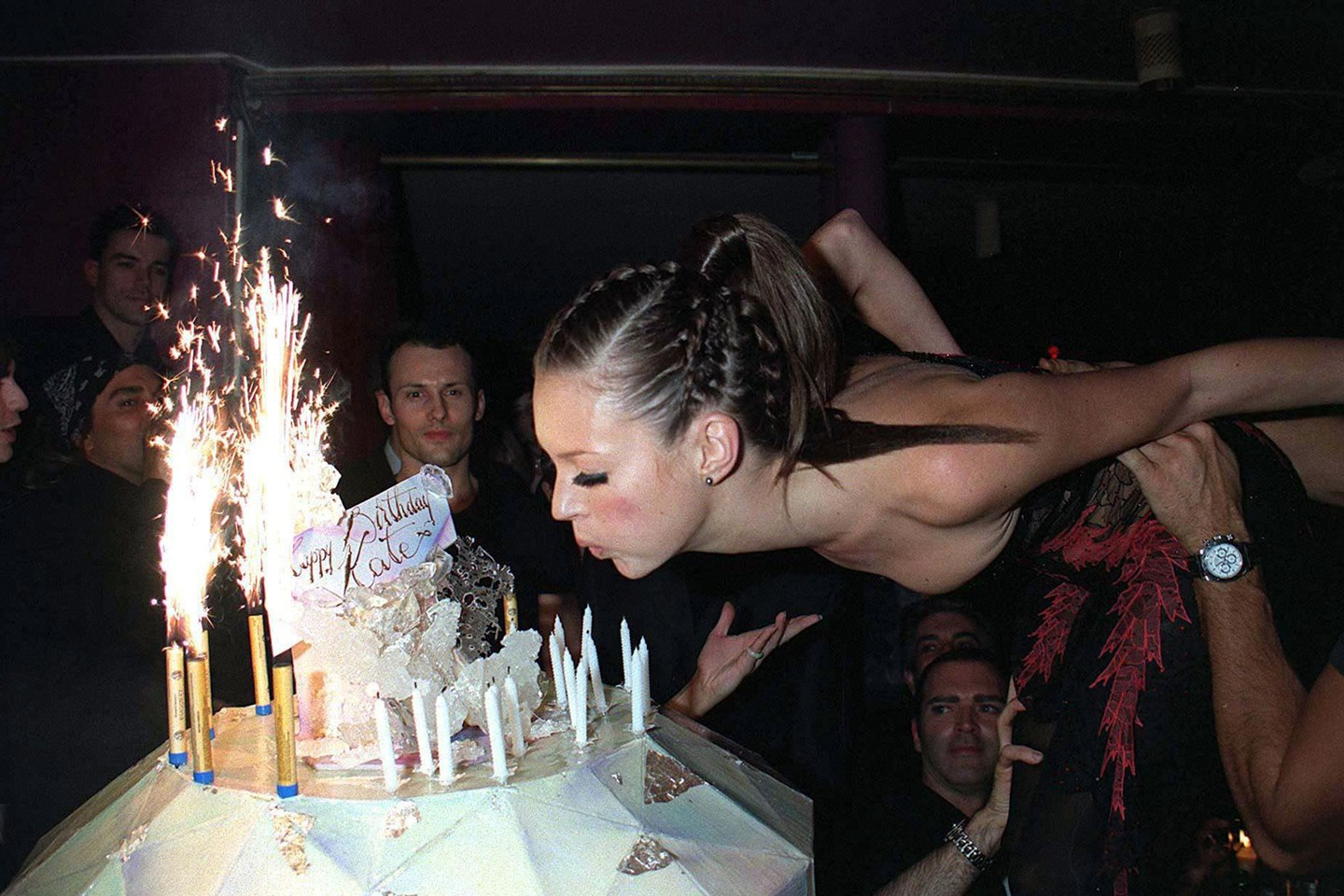 KATE MOSS | 25TH BIRTHDAY | PARIS | JANUARY 1999 | REX FEATURES