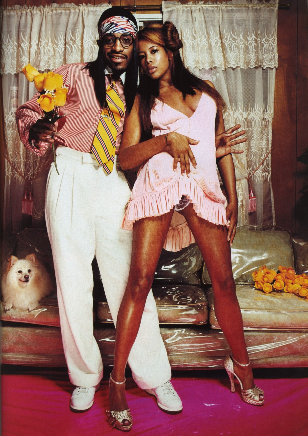 KELIS & ANDRE 3000 | PHOTOGRAPHY DAVID LACHAPELLE | THE FACE N.88 | MAY 2004