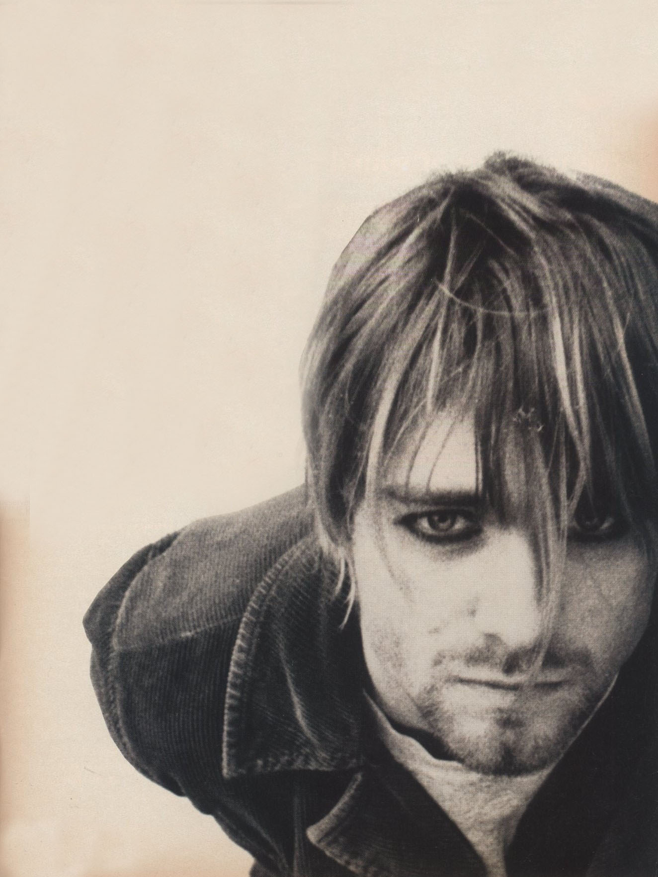KURT COBAIN PHOTOGRAPHY MARTYN GOODACRE i-D THE ROCK'N'ROLL ISSUE NO.129 JUNE 1994
