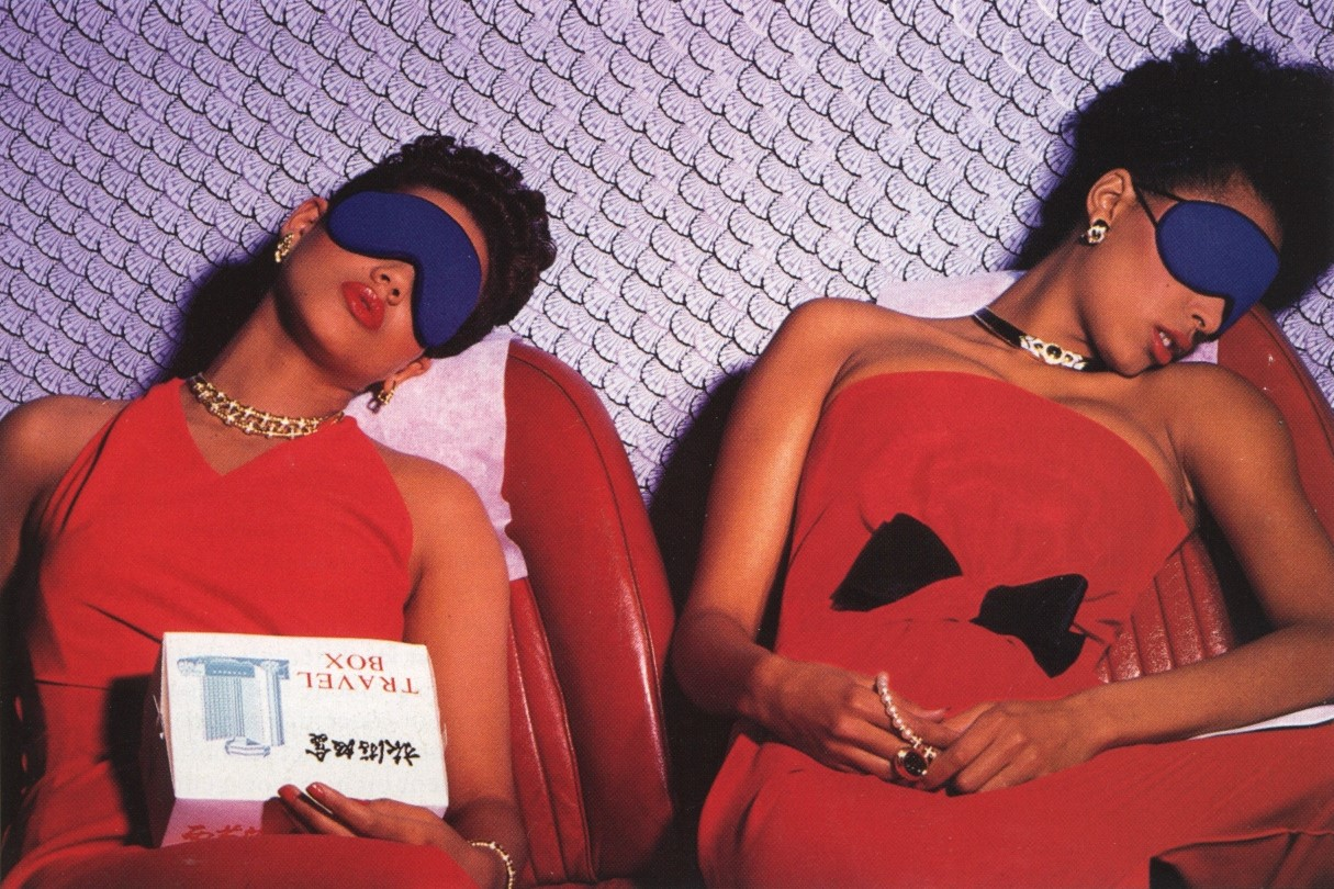 LE ROUGE VALENTINO, MILLESIME | 1985 | PHOTOGRAPHY GUY BOURDIN