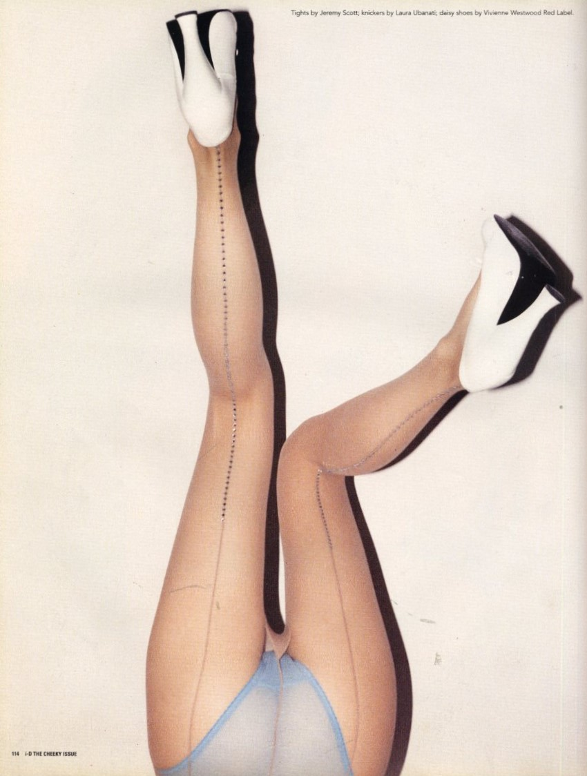 LEGS ELEVEN | KRISTINA KRUSE | PHOTOGRAPHY MATT JONES | i-D NO.182 | DECEMBER 1998
