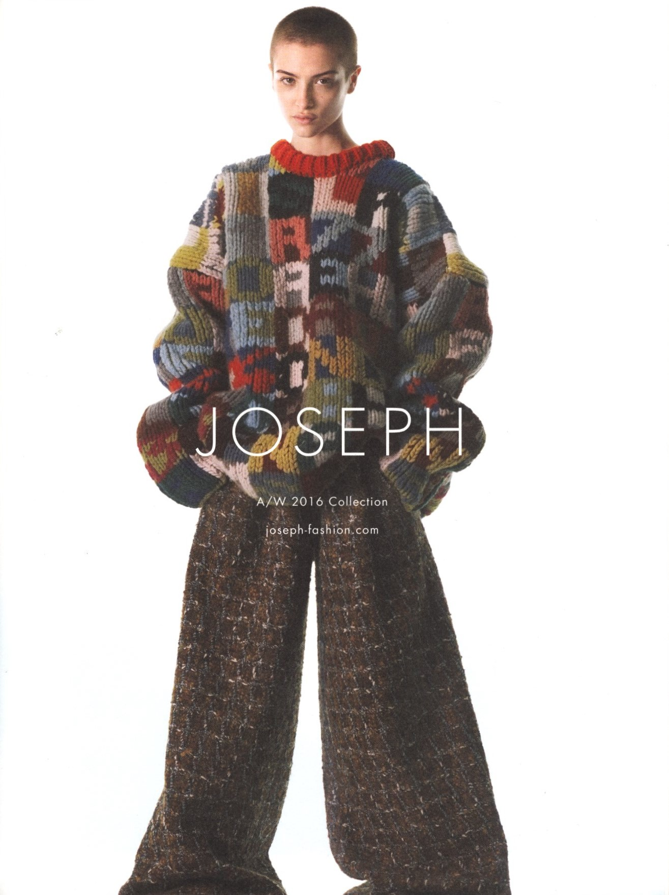 LERA ABOVA | JOSEPH AD CAMPAIGN | A/W 2016 | PHOTOGRAPHY DAVID SIMS