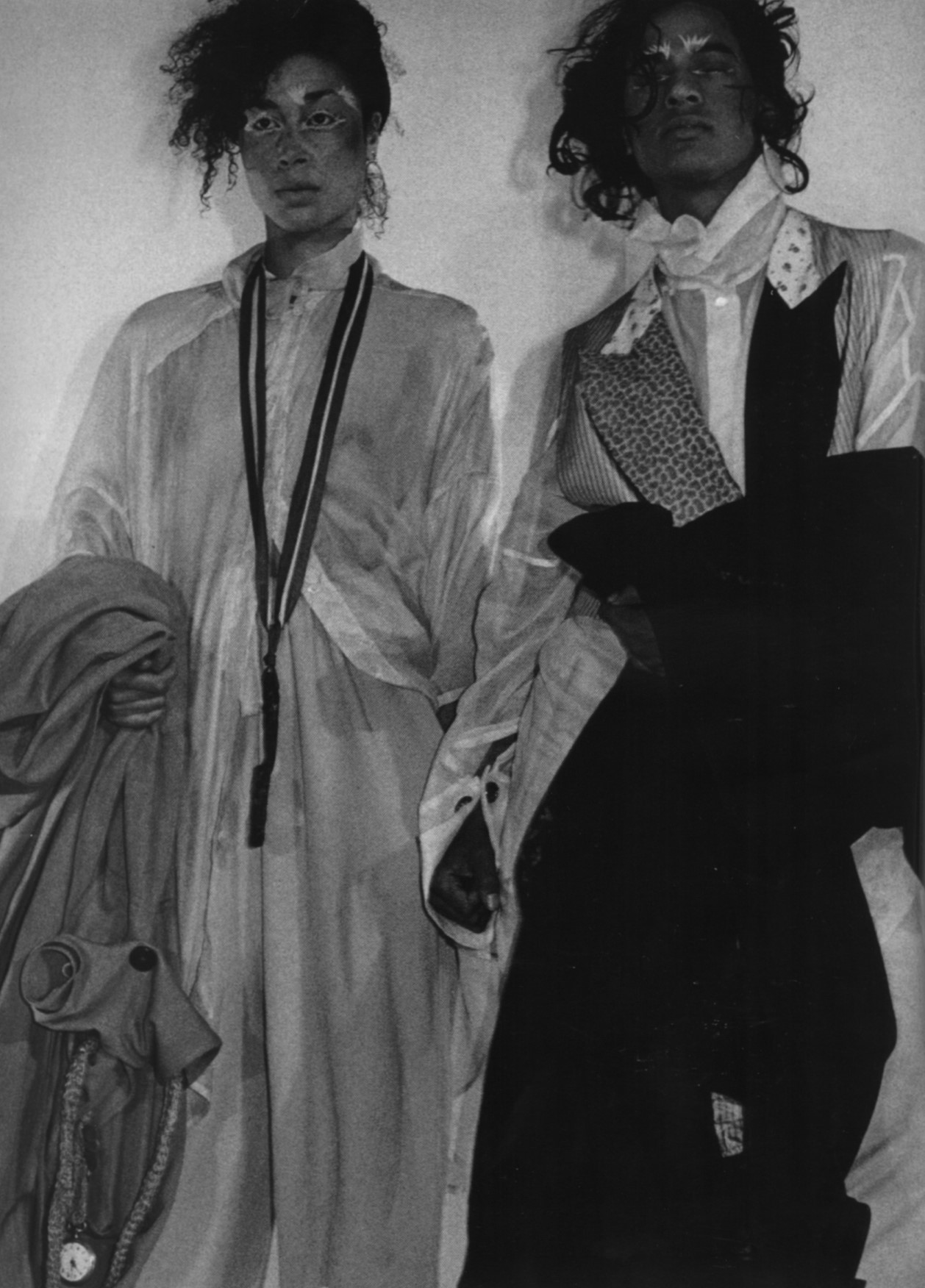 LES INCROYABLES | JOHN GALLIANO'S GRADUATE SHOW  | ST MARTINS | JUNE 1984 | LONDON | PHOTOGRAPHY CHRIS MOORE | POP MAGAZINE | AW 2003