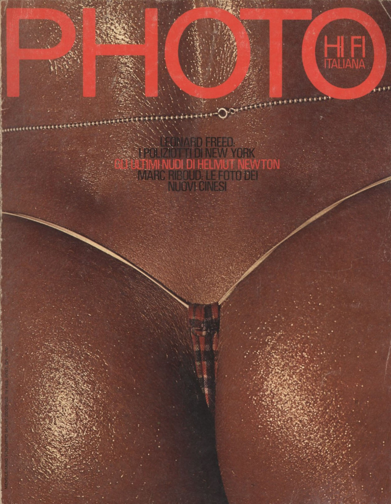 LUCILLA | SAINT TROPEZ | 1978 | PHOTOGRAPHY PHILIPPE GARNER | PHOTO ITALY N° 66 | DECEMBER 1980