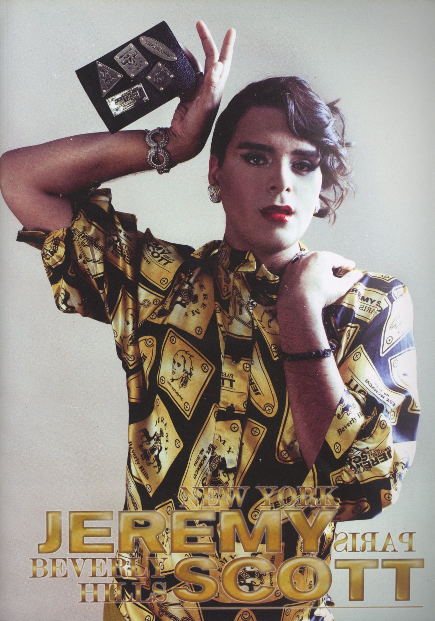 MARKUS MOLINARI | JEREMY SCOTT AD | PHOTOGRAPHY STEVEN TAYLOR | CANDY | 2ND ISSUE | 2010/2011