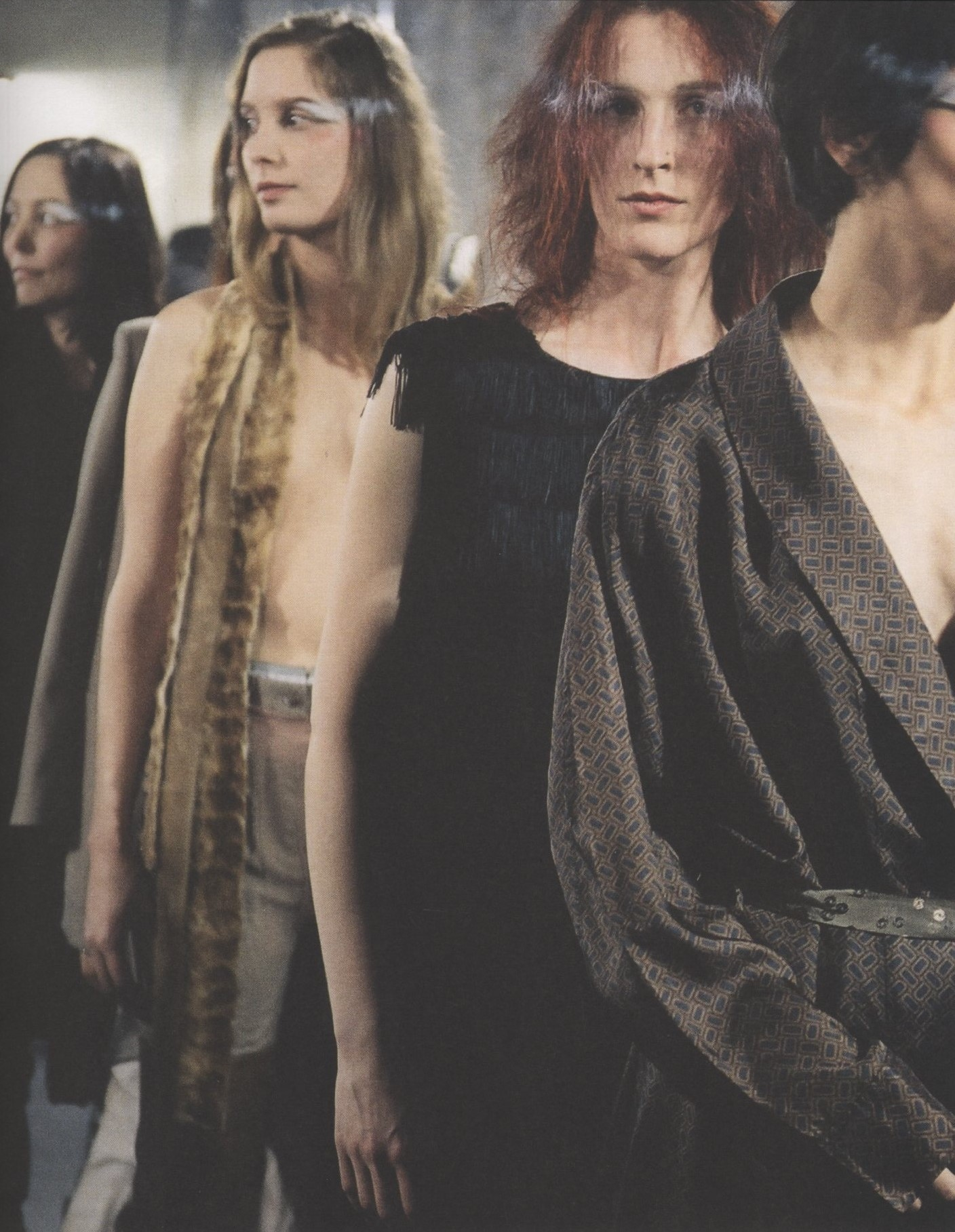 MARTIN MARGIELA AUTUMN/WINTER 2001/2002 PHOTOGRAPHY MARINA FAUST