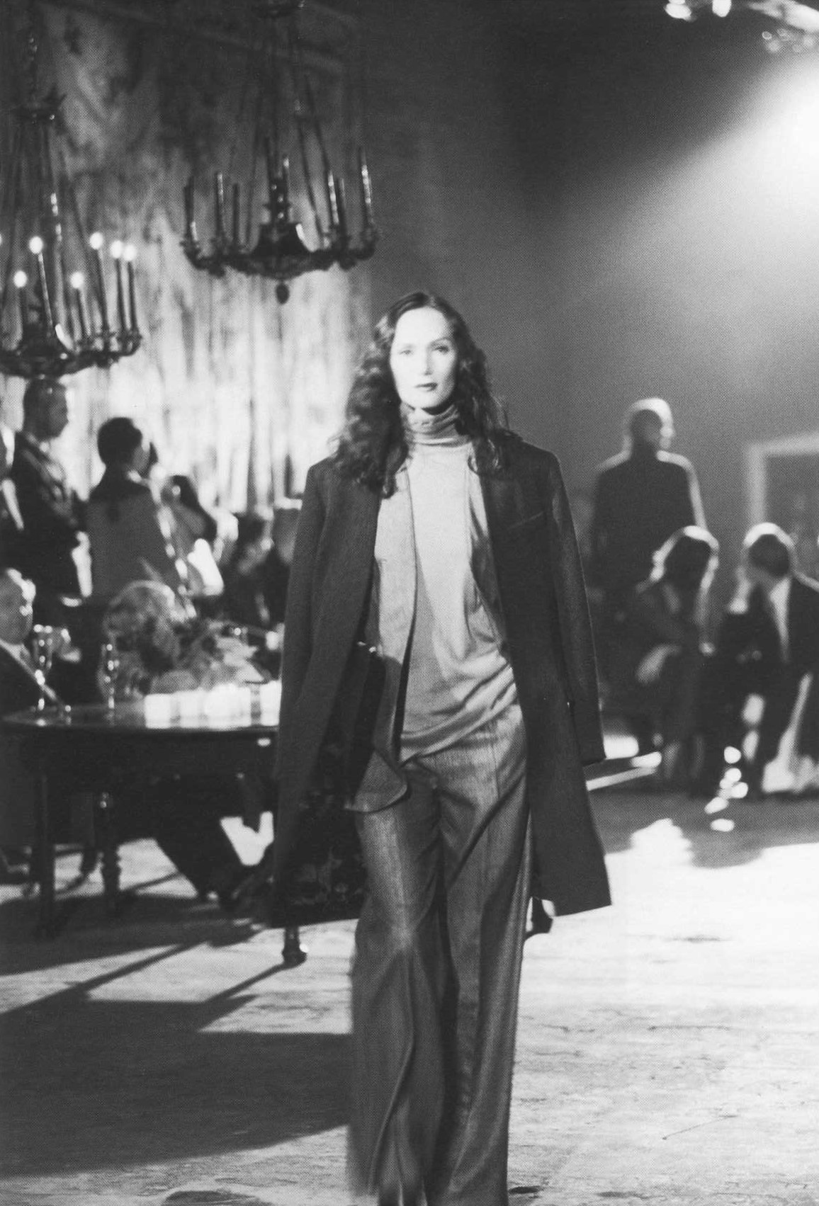 MARTIN MARGIELA FOR HERMES | AUTUMN/WINTER 2001/2002 SHOW AT AXEL VERVOORDT'S KANAAL, WIJNEGEM, BELGIUM | PHOTOGRAPHY KAROLINE AMAURY