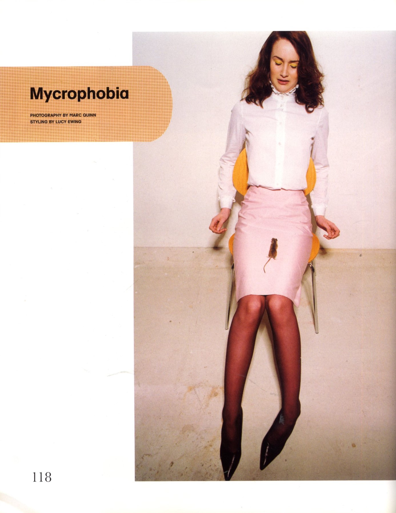 MYCROPHOBIA PHOTOGRAPHY MARC QUINN STYLING LUCY EWING BIG HORROR ISSUE 28