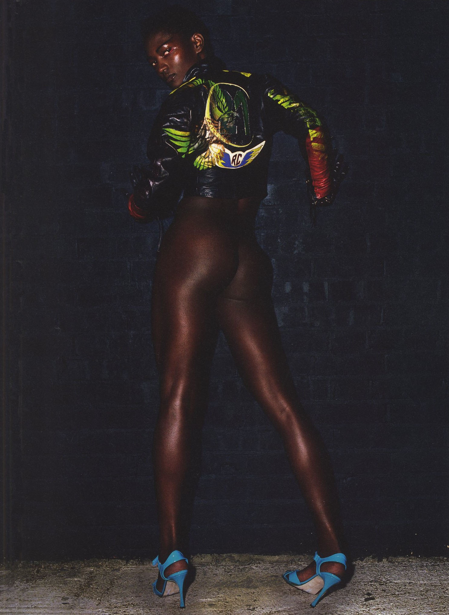 NADINE WILLIS | LONDON | VOGUE PARIS | 2003 | PHOTOGRAPHY MARIO TESTINO