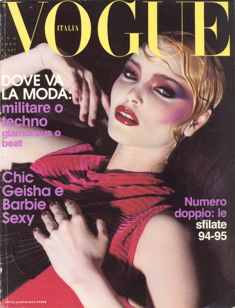 SELECTION FROM VOGUE ITALIA N.527 | JULY 1994 | PHOTOGRAPHY STEVEN MEISEL