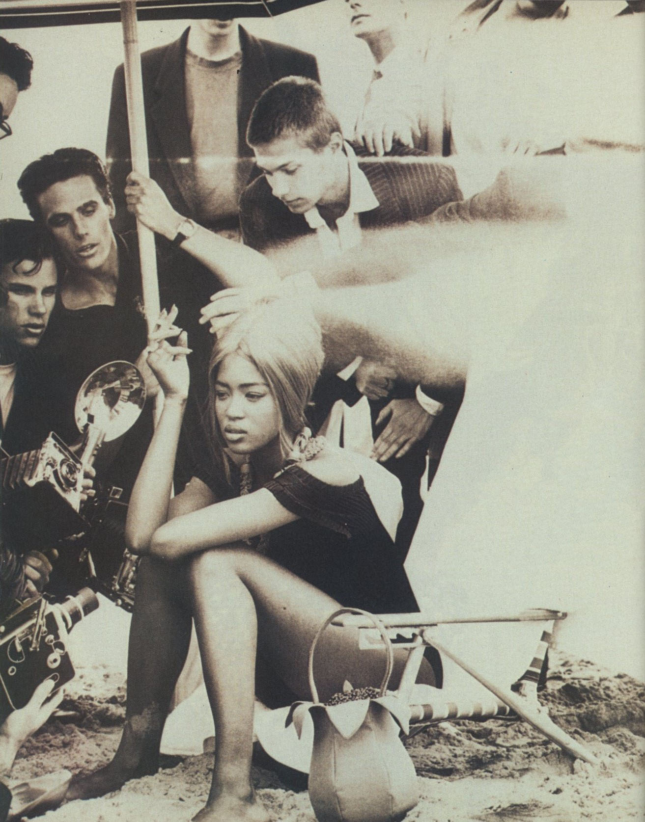 NAOMI CAMPBELL | PHOTOGRAPHY STEVEN MEISEL | VOGUE ITALIA N. 470 | JUNE 1989