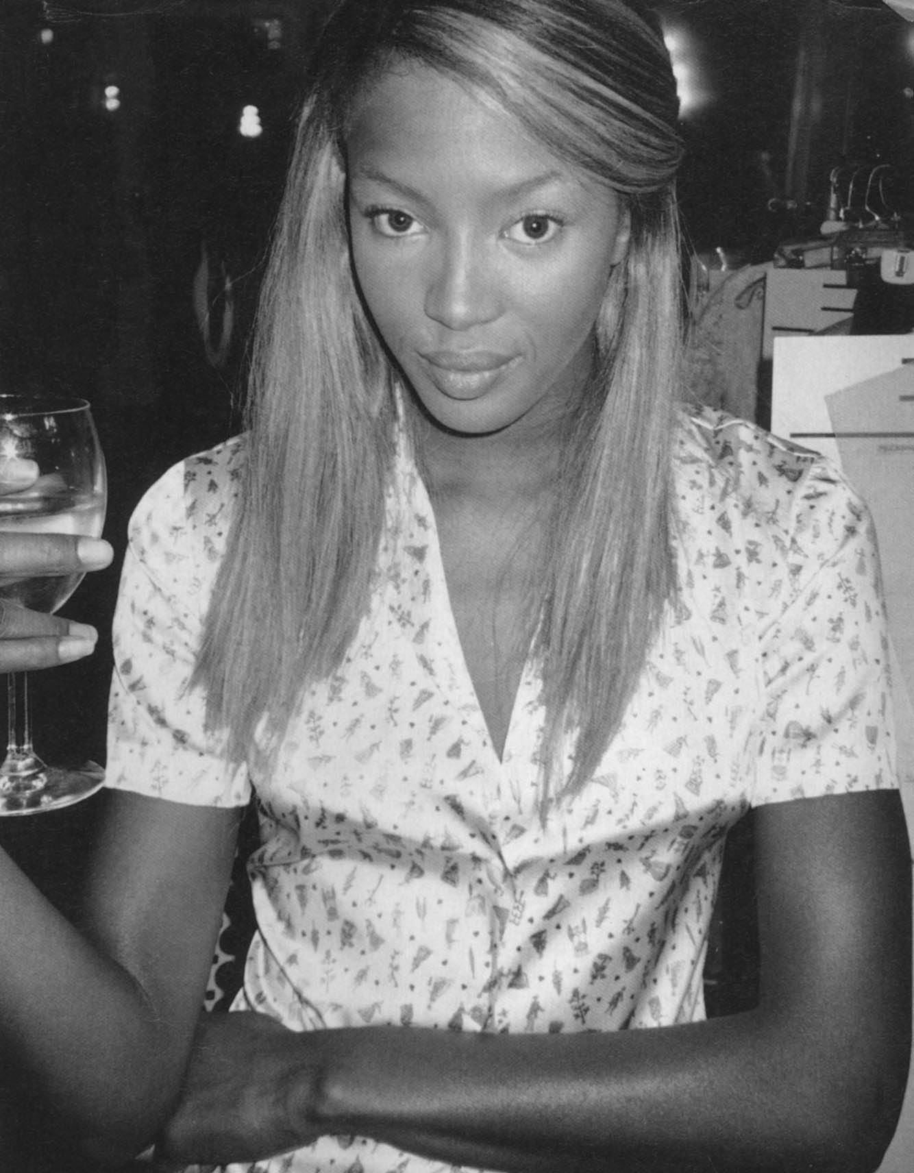 NAOMI CAMPBELL | PHOTOGRAPHY TERRY RICHARDSON | MARC JACOBS | FASHION SHOW | NEW YORK | i-D MAGAZINE NO.148 | JANUARY 1996